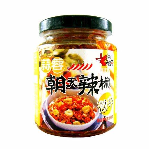 老騾子 蒜蓉 朝天辣椒<激辛>ニンニク入り辛味調味料