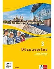Découvertes 3. Ausgabe Bayern: Cahier d'activités mit MP3-CD und Video-DVD 3. Lernjahr (Découvertes. Ausgabe für Bayern ab 2017)