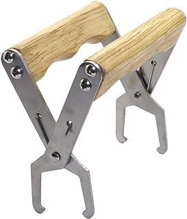 yyuezhi Klammer mit Holzgriff Imkerei Werkzeug mit Holzgriff Wabenzieher Zange Zange Holzgriff Hochwertiger Milzclip mit Holzgriff Massivholz Nestrahmenklemme Rahmen Klammer Imkereibedarf Werkzeug