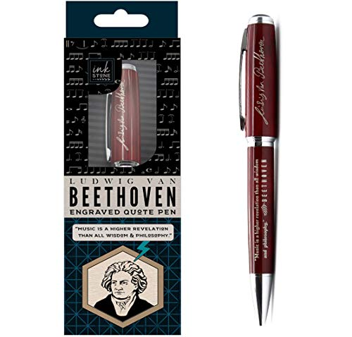 Beethoven Engraved Quote Pen