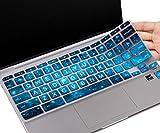 CaseBuy Keyboard Cover for HP Chromebook 14-db 14-ca 14-ak Series/Chromebook 14 G2 G3 G4 G5 /HP Chromebook 11 x360 11.6/ HP Chromebook 11 G2, G3, G4, G5, G6 EE, G7 EE 11.6(Upper Case, Blue Stars)