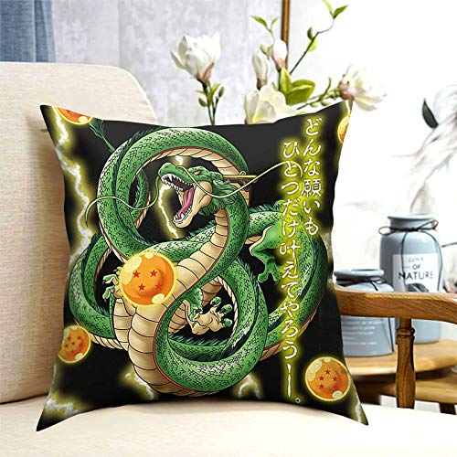 BEEPBOOP Pillowcase, Japanese Animation Decorative Pillowcase, 3D Printing Pattern, Used for Sofa Or Bed Decoration - 18 X 18 in