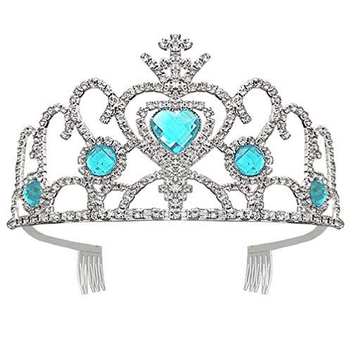 FRCOLOR Viste Tiaras Y Coronas para Niñas Corona de Princesa Diadema de...