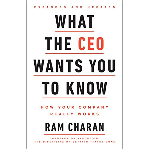 What the CEO Wants You to Know, Expanded and Updated audiobook cover art