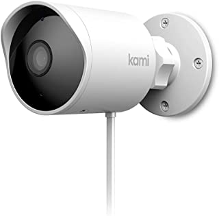 Kami Smart Outdoor/Indoor Security Camera, AI-Powered 1080p Home Surveillance System with Human Detection, Starlight Night Vision, Time Lapse, Activity Zone, Siren Alarm, Cloud Service