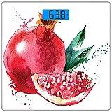 Escala digital de peso corporal de precisión Square Fruta Báscula de baño de...