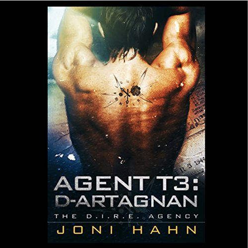 Agent T3: d'Artagnan audiobook cover art