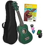 Best Aquila Acoustic Guitar Strings - CASCHA Soprano Ukulele Set Dutch I Starter Kit Review