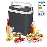 wolketon Kühlbox Thermo-elektrische, 24 Liter, WÄRMT und KÜHLT, tragbare Mini-Kühlschrank mit...