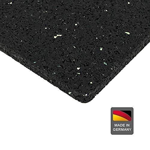 Systafex® Unterlegmatte Bautenschutzmatte Bodenschutzmatte für Fitnessgeräte Bodenmatte 3mm 125x80 cm