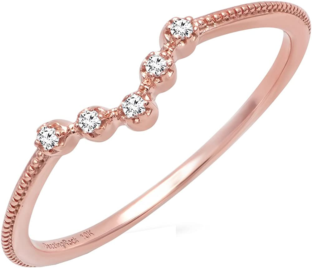 Dazzlingrock Collection 0.05 Carat ctw Gold 14K Super Max 68% OFF special price Diamond Round