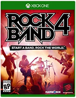 Rock Band 4 Game ONLY - Xbox One vídeo juego
