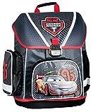 Disney Cars Schulranzen Jungen 1 Klasse Tornister Schulrucksack Schultasche SET 5 teilig für Grundschule super leicht
