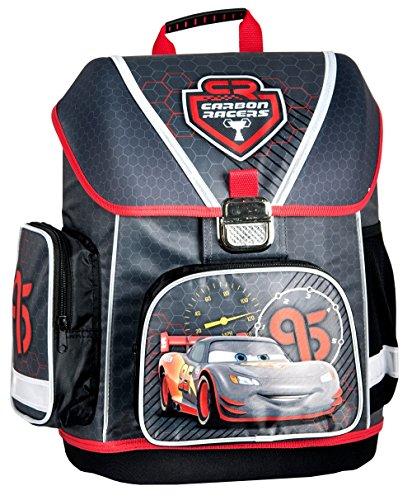 Disney Cars Schulranzen Jungen 1 Klasse Tornister Schulrucksack Schultasche für Grundschule super leicht