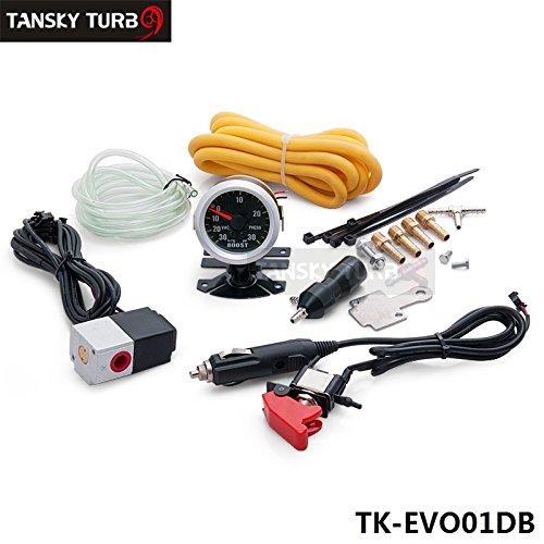 tansky–Manual Turbo Controlador Dual Kit de actualización de fase y 52mm Boost Gauge mbc-r-evo tk-evo01db