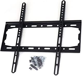 TV Wall Mount Bracket Low Profile for Most 26-60inch LED, LCD, OLED, Plasma Flat Screen TVs with VESA 400x400mm Weight up ...