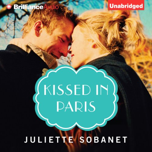 Kissed in Paris audiobook cover art