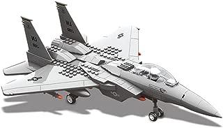 Maqueta de F15 Eagle. Modelo de caza táctico bimotor para armar con bloques. Aeromodelismo 1:48