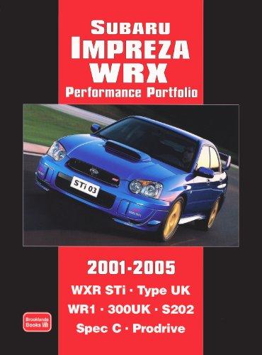 Subaru Impreza WRX Performance Portfolio 2001-2005 (Motor Books)