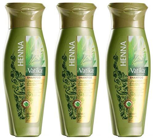 Dabur Vatika Naturals Henna Shampoo, 200 ml