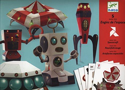 Djeco – Paper toys – Engins de l'espace