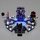Kit di Illuminazione A LED per Darth Vader Transformation Building Blocks Compatibile con Il Modello 75183 (Non Includere Model)