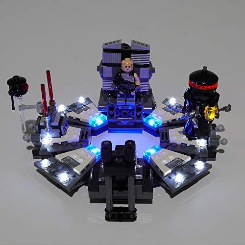 CZA LED-Beleuchtung Kit Für Darth Vader Transformation Bausteine Kompatibel Mit Modell 75183 (Nicht Enthalten Modell)