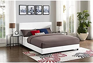 Best mainstays faux leather platform bed Reviews