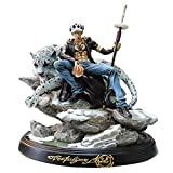 One Piece Trafalgar Law Snow Leopard Scènes Statique Figure