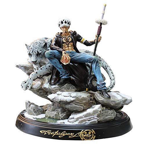 One Piece Trafalgar Law Snow Leopard Scènes Statique Figure