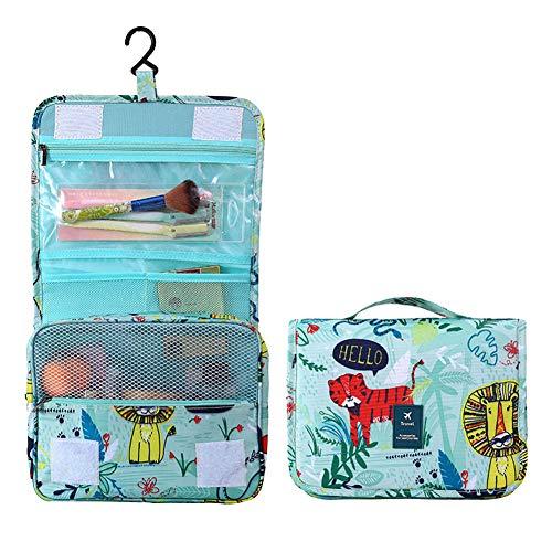 Lovemay Portable Voyage Hommes Et Femmes Crochet Lavage Cosmétique Sac Haute Qualité Polyester 24 * 10 * 20 cm