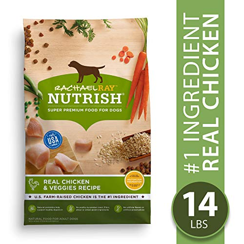 Rachael Ray Nutrish Premium Natural Dry Dog Food, Real Chicken & Veggies Recipe, 14 Pounds (B001F2KB4C-PARENT)