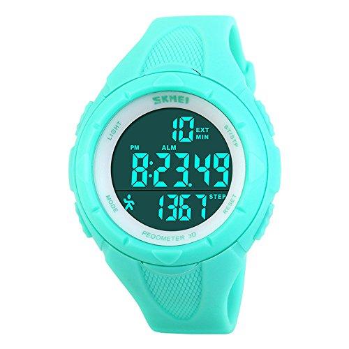 Gosasa Multifunction Women's Watch Fashion Pedometer Digital Fitness For Women Outdoor Wristwatches Sports Watches