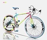 YANGHAO-Bicicleta de montaña para adultos- Bicicleta de car