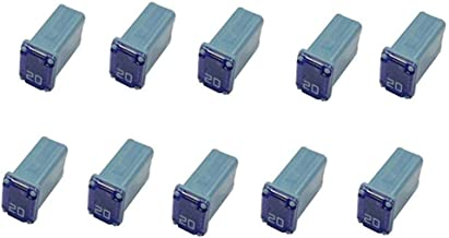 ATM 10 Amp Fast-Acting Automotive Mini Blade Fuses Pack of 100
