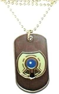 WMU Halo 3 Metal Dog Tag Necklace