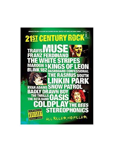 21st Century Rock Tab 4. Partitions pour Tablature Guitare(Symboles d\'Accords)