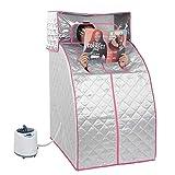 Kit per sauna portatile da 2 l, pieghevole a vapore per la casa, tenda per sauna a vapore e spa, macchina per la perdita di peso per la disintossicazione e perdita di peso corporeo