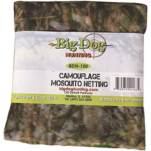 Big Dog Hunting Camouflage Mosquito Netting BDN-100 Camouflage Mosquito Netting