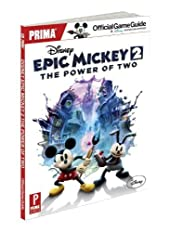 Disney Epic Mickey 2 - The Power of Two: Prima Official Game Guide (Prima Official Game Guides) by Searle, Mike (2012) Paperback