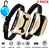 Best Bark Collars - Awaiymi Bark Collar 2 Pack Upgraded 7 Sensitivity Review