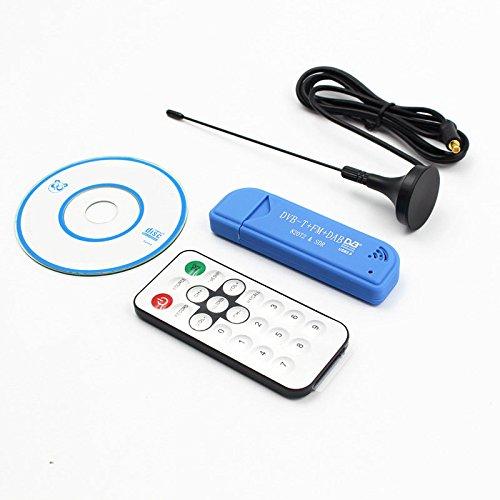 USB2.0 FM DAB DVB-T RTL2832U R820T2 RTL-SDR SDR Dongle Stick Digitale TV-tuner Afstandsbediening INFRAROOD Ontvanger met antenne