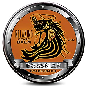 Bossman Relaxing Beard Balm - Tamer, Thickener, Relaxer and Softener Cream and Beard Care Product - Made in USA… 12