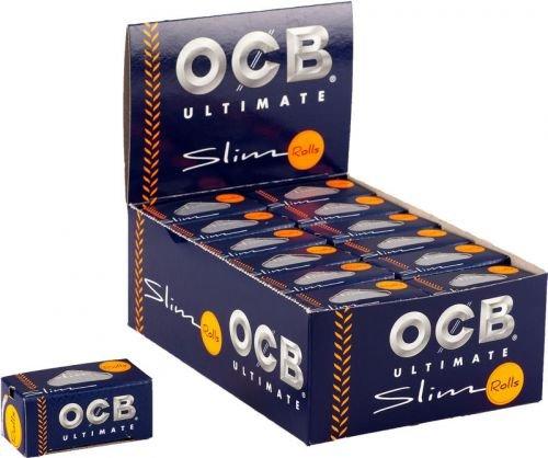Zigarettenpapier OCB Ultimate Slim Rolls 24 Rollen à 4 m