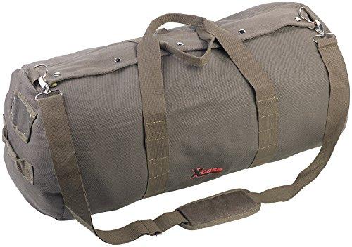 Xcase Sporttasche: XL-Canvas-Reisetasche mit gepolstertem Schultergurt, 70 Liter (Canvas Taschen)