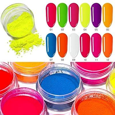 12 Cajas Pigmento Polvo