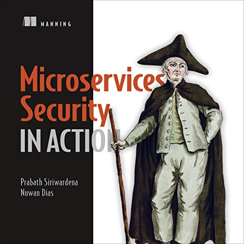 Microservices Security in Action Titelbild