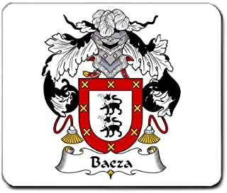 Baeza Family Crest Coat of Arms Mouse Pad