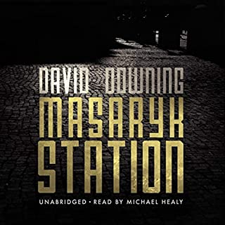 Masaryk Station audiobook cover art