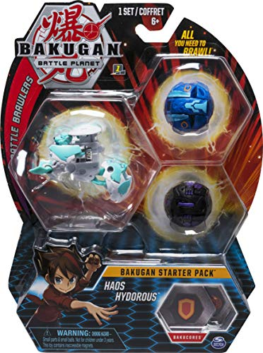 Bakugan Starter Pack 3-Pack Haos Hydorous Only $6.73 (Was $19.99)